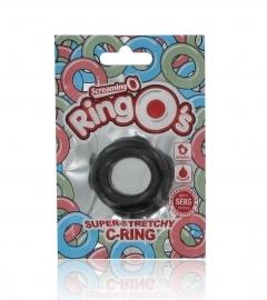 Screaming O RingO´s – silikónový krúžok na penis (čierny)