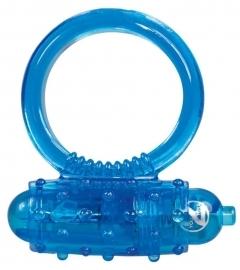 You2Toys Vibro ring - silikónový vibračný krúžok na penis - modrý