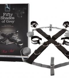 Päťdesiat odtieňov sivej - kompletná zväzovacia súprava Keep still
