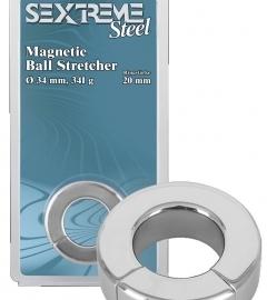 Sextreme – krúžok a naťahovač na semenníky s ťažkým magnetom (341g)