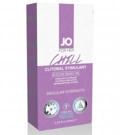 System JO Clitoral Stimulant Cooling Chill - stimulačný gél pre ženy (10ml)