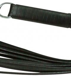 ZADO - mäkký kožený korbáč