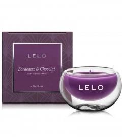 LELO luxusná vonná sviečka - víno-čokoláda (70g)