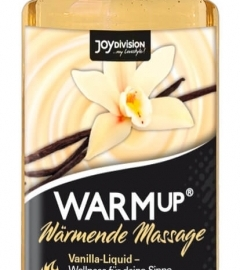 Joydivision Warm Up - masážny olej s hrejivým účinkom - vanilka (150 ml)
