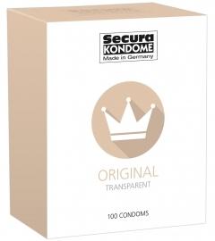 Secura Original - priehľadné kondómy (100ks)