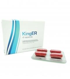KingER - výživový doplnok v kapsulách pre mužov (4 ks)