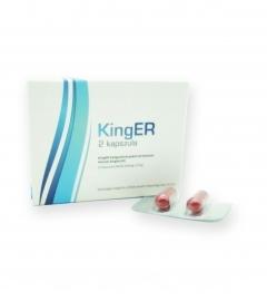 KingER - výživový doplnok v kapsulách pre mužov (2 ks)