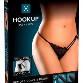 HOOKUP Bowtie Bikini - cordless vibrating panty ...