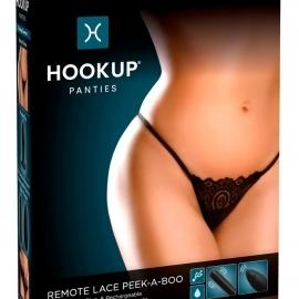 HOOKUP Peek-a-boo - cordless, vibrating panty ...