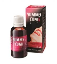 Yummy Cum Drops - výživový doplnok v kvapkách - pre mužov (30 ml)