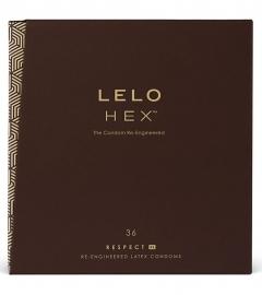 LELO Hex Respect XL - kondómy (36ks)